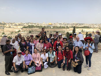 Inala Holy land 2018 group2 350