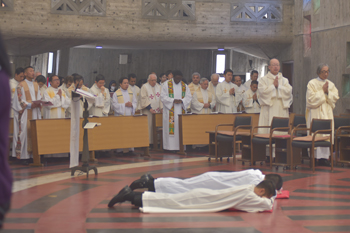Keiji and Joseph final vows prostrate 350