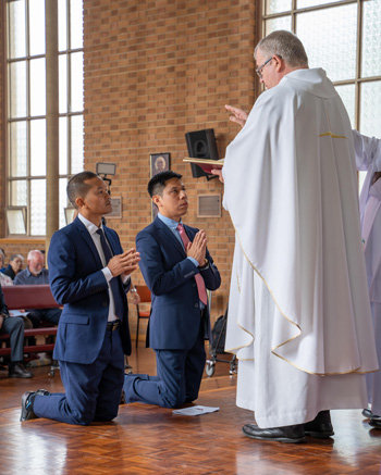 Simon and Toub make their vows 350